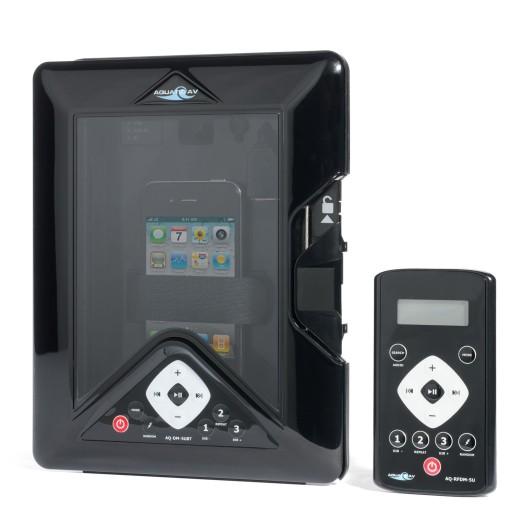 Funda Móvil Estanca AQ-DM-5UBT Con Conexión MP3, USB, Smartphone y iPhone