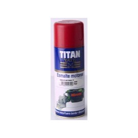 Titan Yate Esmalte Motores Spray 400ml