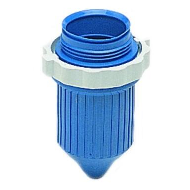 Funda Protectora Conector Tripolar Azul
