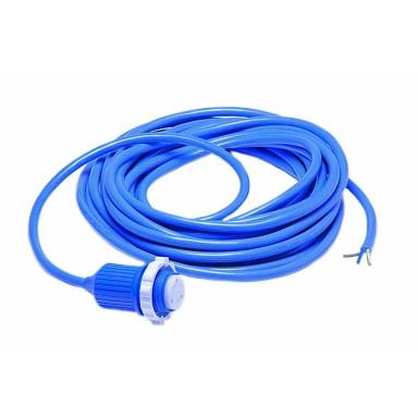 Cable Con Conector Tripolar y Funda Protectora