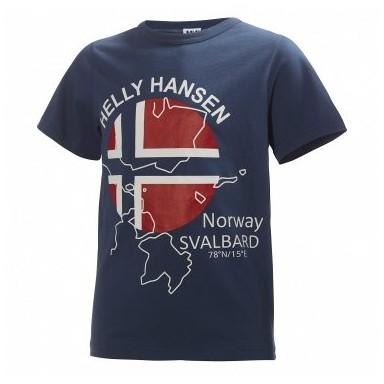 Camiseta Junior Logo Helly Hansen