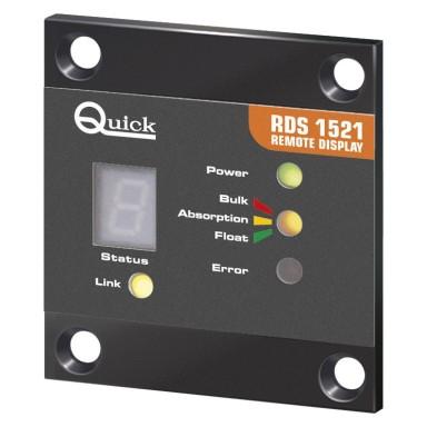 Panel Control Cargadores Quick RDS 1521