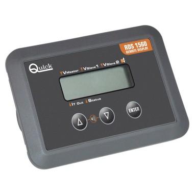 Panel Control Cargadores Quick RDS 1560