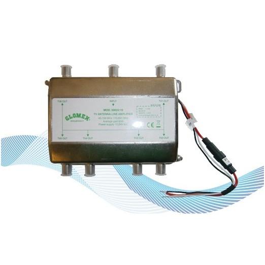 Amplificador Glomex 50022 10 Antenas Glomex Adhara V9150