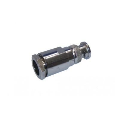 Conector BNC Macho para Cable RG213