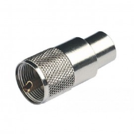 Conector PL259 Macho Cable RG213
