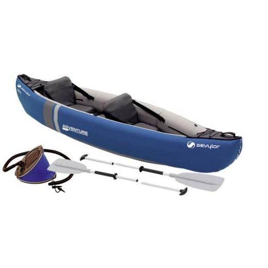 Sevylor Adventure Canoa Hinchable Kit