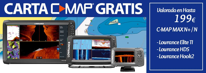 GPS Sonda Lowrance Carta Gratis