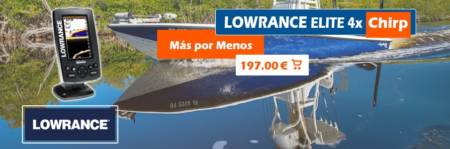 Lowrance Elite 4x Chirp